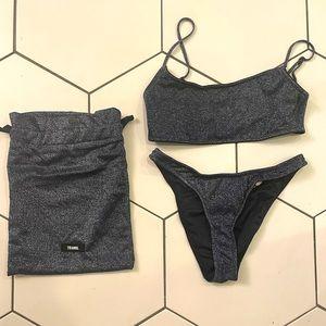 SOLD Navy Triangl Bikini